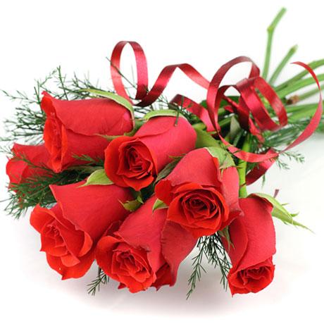 Букет червени рози- доставка на цветя Русе